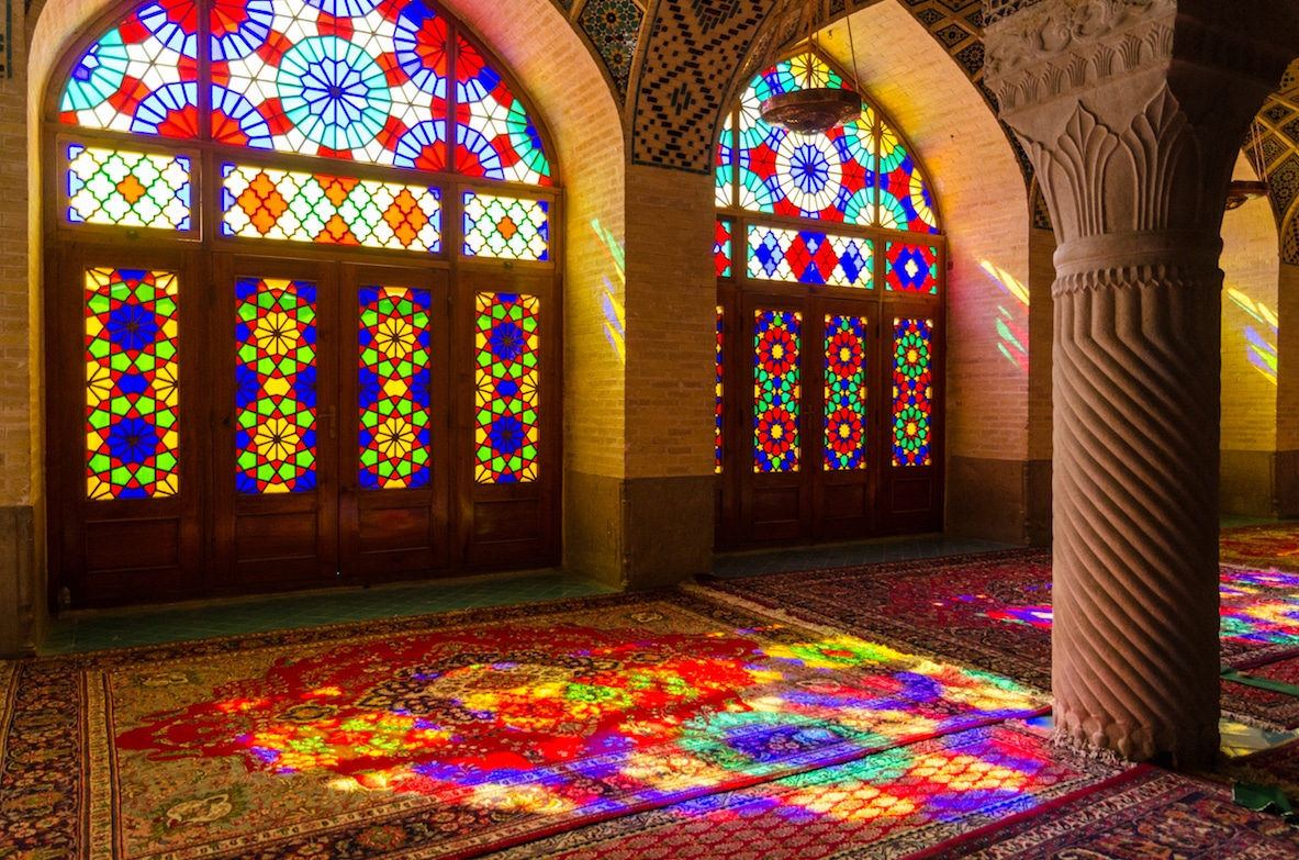Iran Travel and Tour from NZ - Mosque, Shiraz, Iran